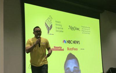 Social Media Tips from Shaun Ayala – a Snapchat Storyteller and Influencer