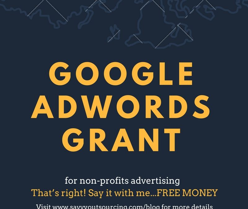 Managing Google Adwords Grant for Non-Profits