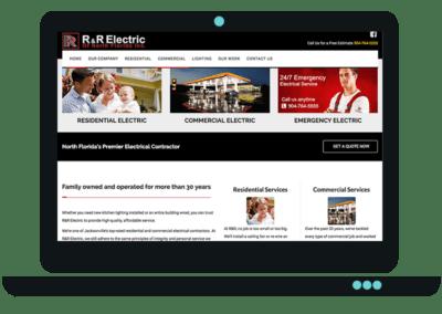 Electric Company Website Design