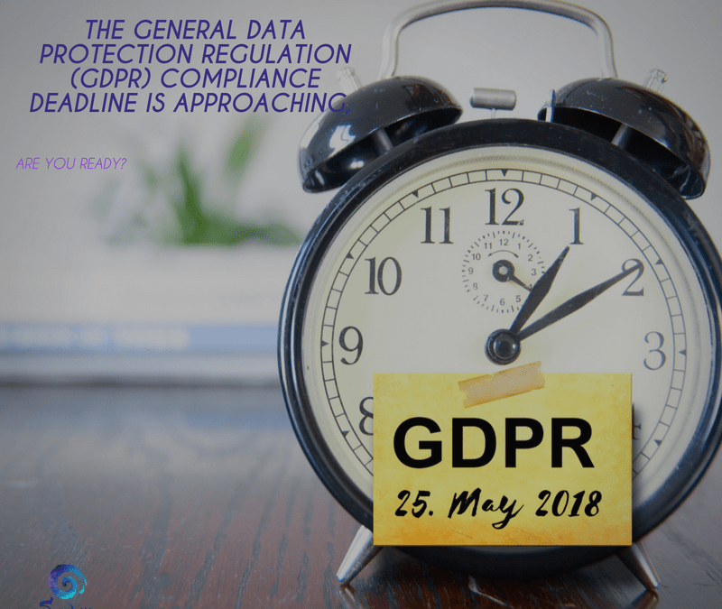 The General Data Protection Regulation (GDPR) Compliance deadline is approaching, are you ready?
