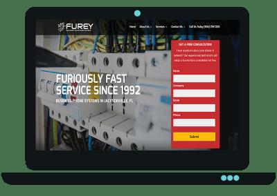 Telecommunications Company Website
