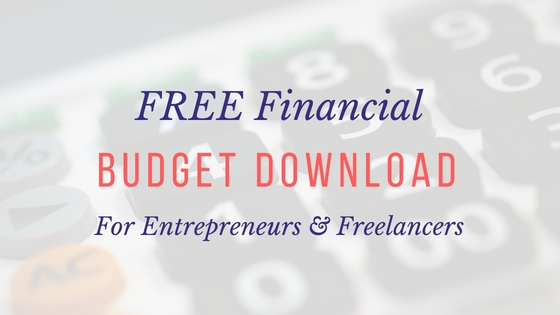 Free Freelancer Annual Budget Download