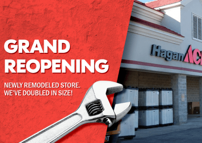 Ace Hardware Grand Opening Advertising