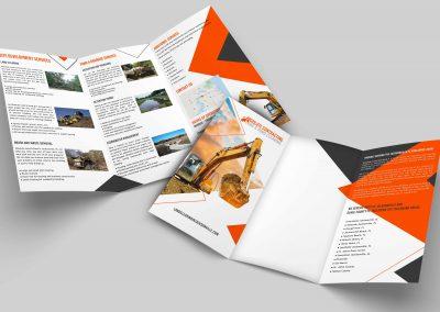 Construction Company Brochures