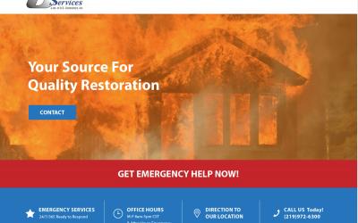 DKI Fire Restoration Website